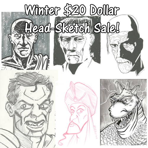 winter sketch sale