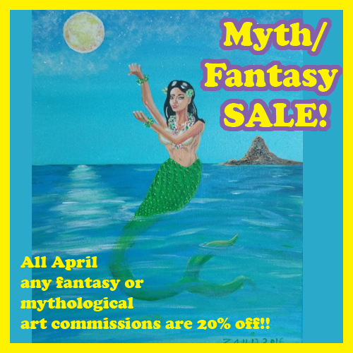 April fantasy sale